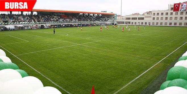 İbrahim Yazıcı Stadı açıldı
