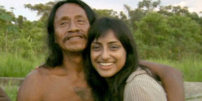 Belgesel için gittiği kabilede evlendirildi