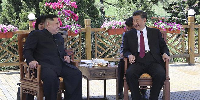 Kuzey Kore lideri Kim Jong yine Çin'e gitmiş