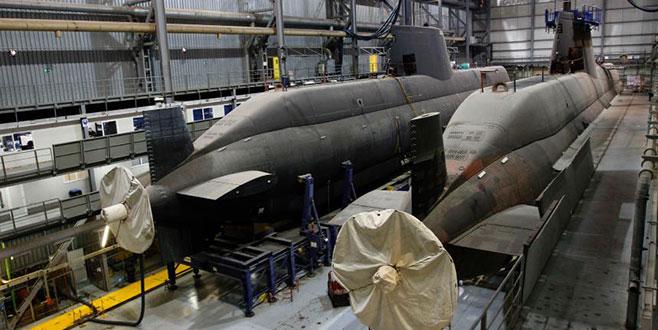 Almanya'dan Türkiye'ye 6 adet denizaltı