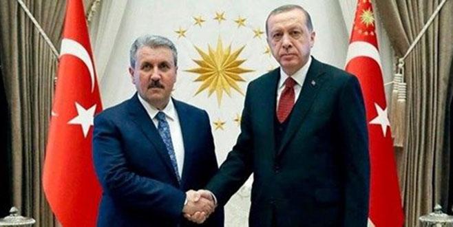 Cumhurbaşkanı Erdoğan, yarın BBP Genel Başkanı'nı ziyaret edecek