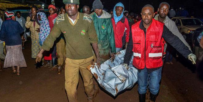 Kenya'da baraj faciası