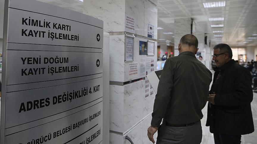 Nüfus müdürlüklerinde 'seçim' yoğunluğu