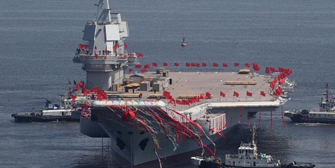 Çin'in ilk yerli uçak gemisi