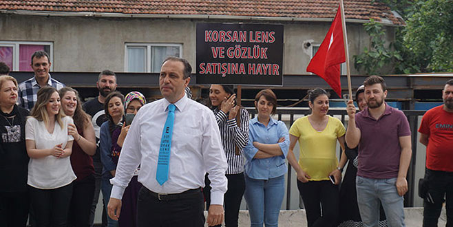 Korsan lense karşı Ankara'ya yürüyüş