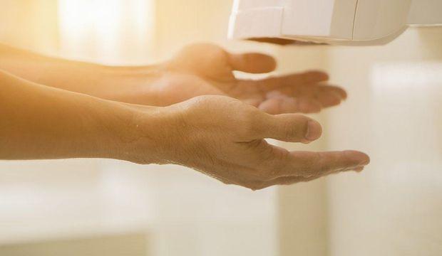 Ellerinizi bu makinede kurutuyorsanız…