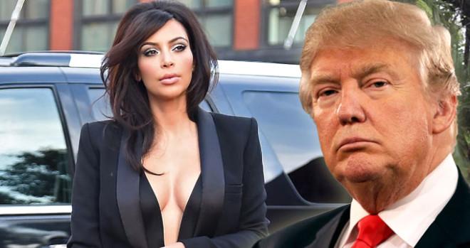Kim Kardashian Donald Trump'tan 'af' istedi