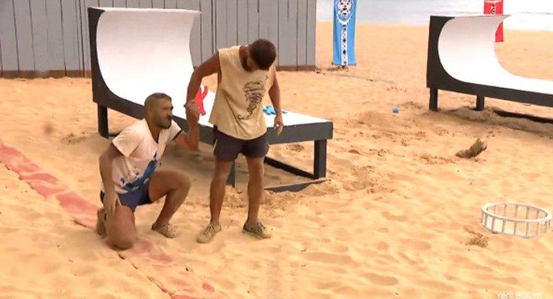 Survivor'da Ümit Karan'ın sakatlığı Hilmi Cem'i korkuttu