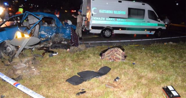 Korkunç kaza! Bir aile yok oldu: 6 ölü, 2 yaralı