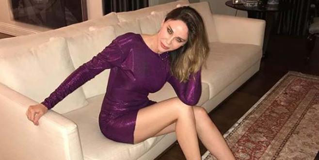 Paylaştığı elbise sosyal medyayı karıştırdı