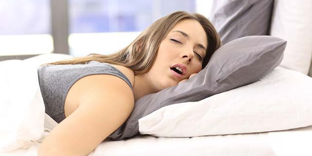 Uyurken ağzınızdan su geliyorsa dikkat!