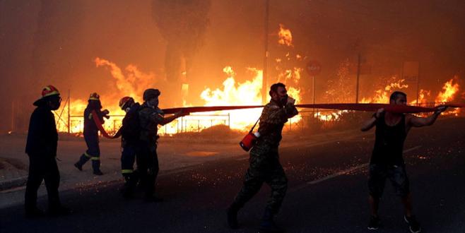 60 ölü, 156 yaralı! Dünden beri alev alev yanıyor! Komşudaki yangından can yakan kareler