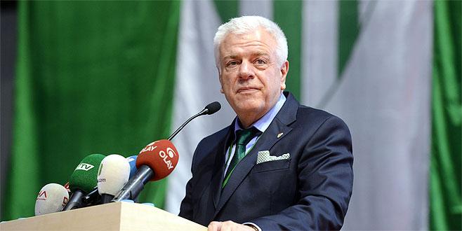 Bursaspor eski başkanı Ali Ay'dan açıklama…