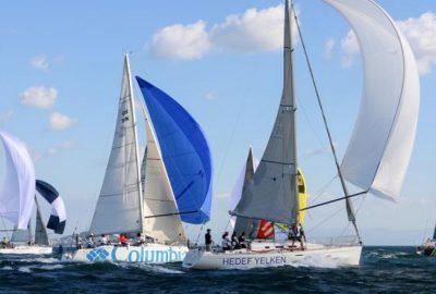 Olympos Regatta'nın galibi 'Eker 40' oldu