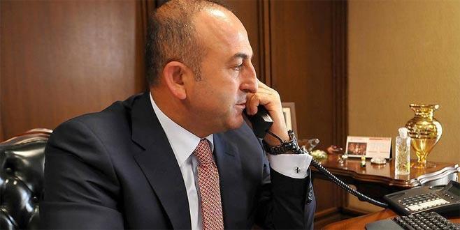 Çavuşoğlu, Pompeo ile telefonda görüştü