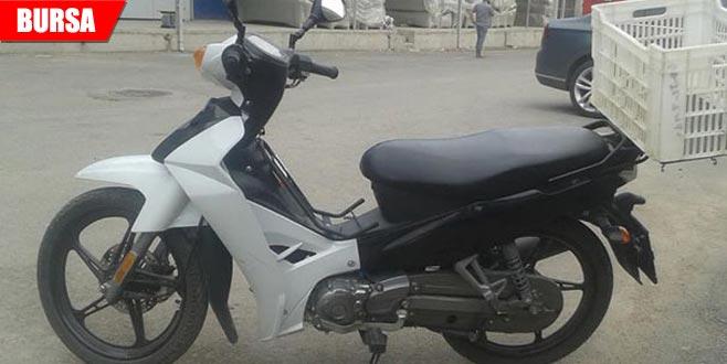 'Şeytana uydum affet beni' dedi! Çaldığı motosikleti…