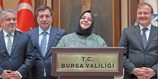 Bursa'ya kadın eli değecek