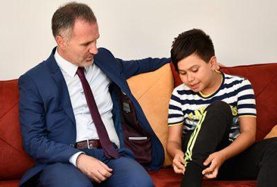 Başkan Taban'dan Ahmet Can'a ziyaret