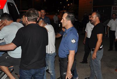 500 bin liralık kumaş hırsızlığına 8 gözaltı