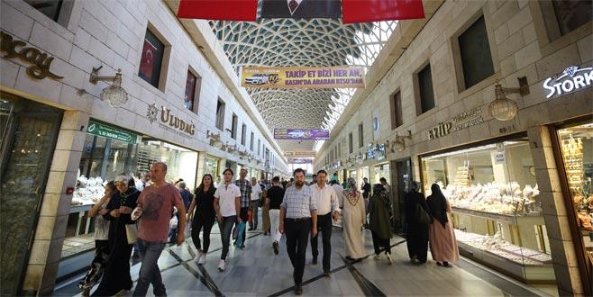 Bursa Tarihi Kapalı Çarşı 20 Nisan'a kadar kapalı