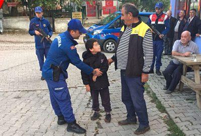 Kayıp çocuk evinin 4 kilometre ilerisinde bulundu