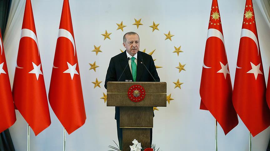 Cumhurbaşkanı Erdoğan'dan Endonezya mesajı
