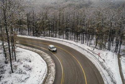 Uludağ'dan kar manzaraları…