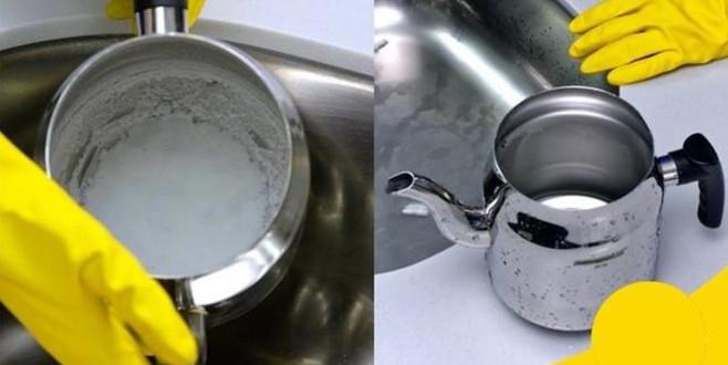Çaydanlıkları parlatmanın 3 pratik yolu
