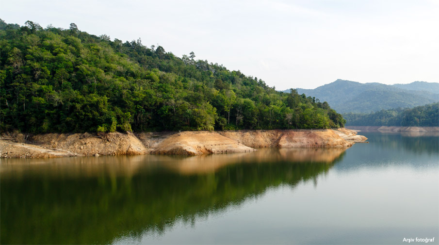 Mudanya'daki Yalıçiftlik Barajı tamamlandı