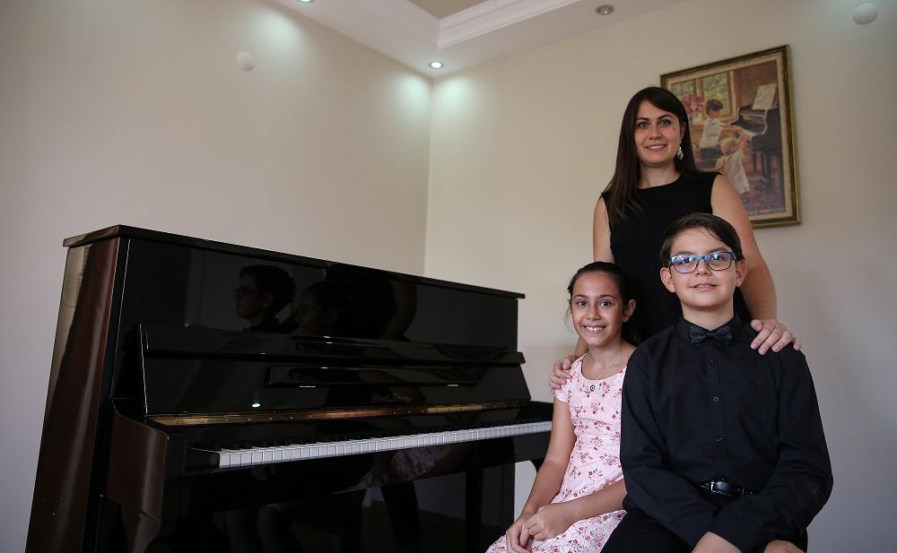 Piyanonun çocuk yeteneklerine Rusya'dan özel davet