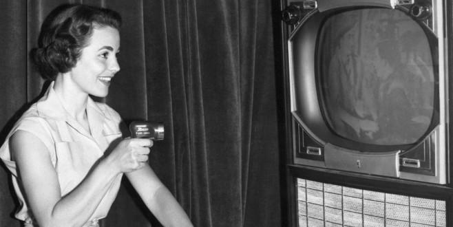 1950'lerden bugüne televizyon kumandasının evrimi
