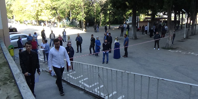 Bursa'da KPSS heyecanı
