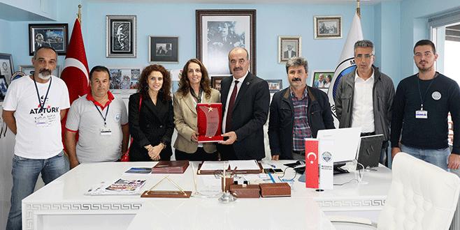Mudanya'nın projesine 'en iyi uygulama ödülü'