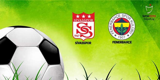 Fenerbahçe ile Sivasspor 25. randevuda