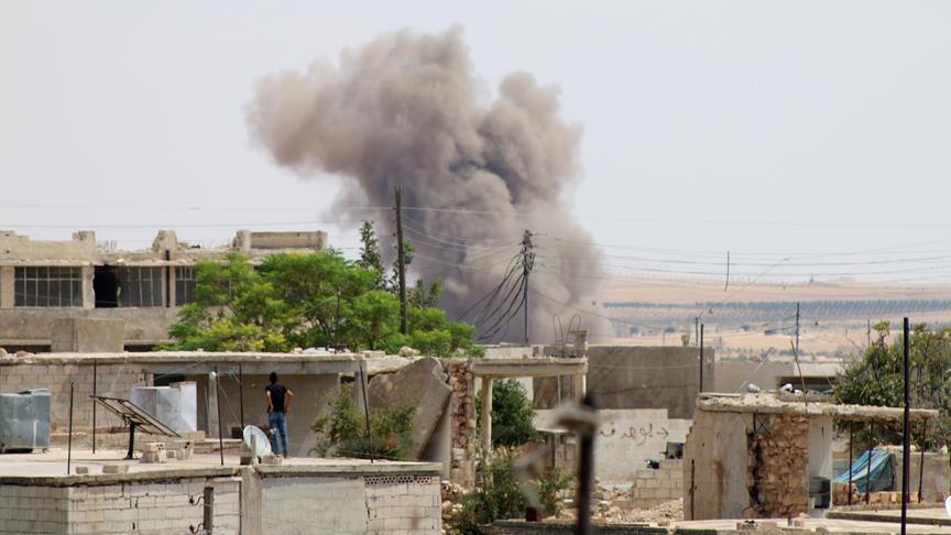 Koalisyonun Deyrizor'dakicami saldırısında 16 sivil öldü
