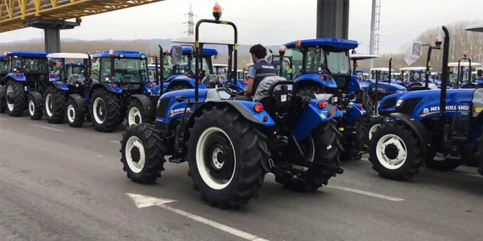 130 Ülkenin tarımına Türk traktörü