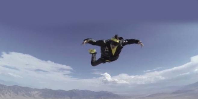 Dünyaca ünlü rapçi, klip çekerken uçaktan düştü!