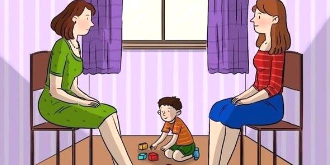 Sosyal medyayı sallayan soru: Bu resimde anne hangisi?