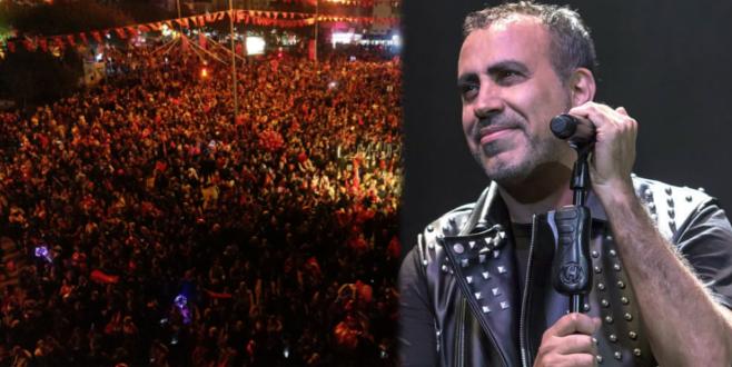Bursa'da Cumhuriyet çoşkusu! Haluk Levent şarkılarıyla kutlandı