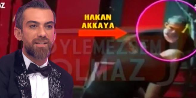Hakan Akkaya'nın çıplak erkekle skandal gecesi!