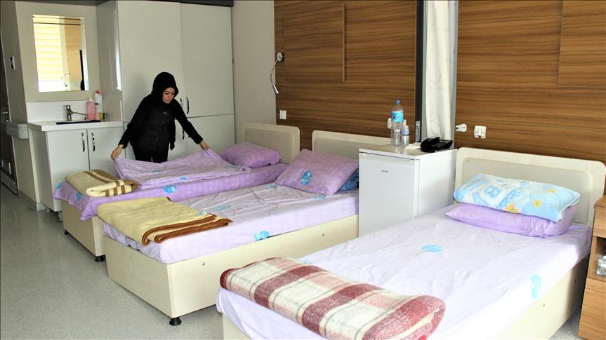 Anne adaylarına otel konforunda hizmet