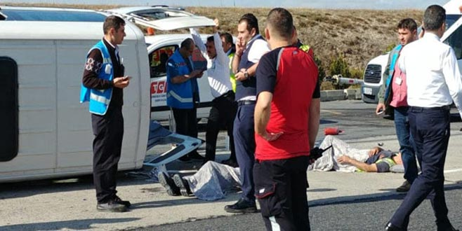 Atatürk Havalimanı apronunda kaza: 9 yaralı