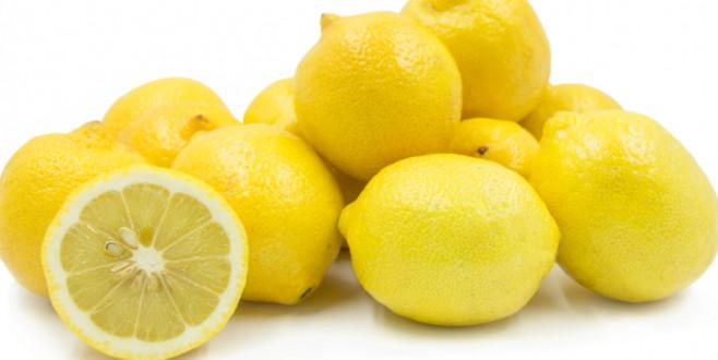 Limon dişleri aşındırır, kabuklu elma cilalar!