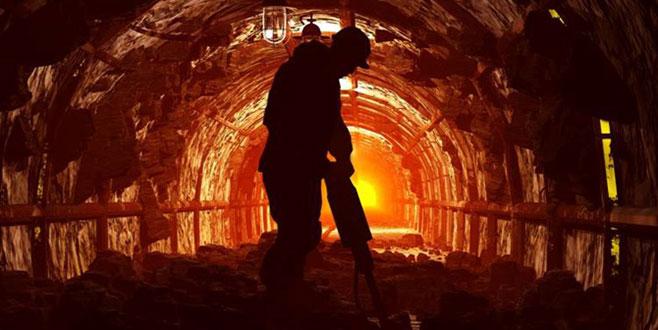 Maden ocağında kaya düştü: 11 yaralı