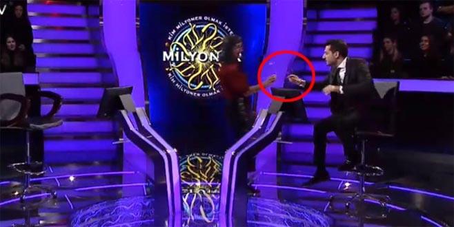 Murat Yıldırım fark edince yarışmacı ne diyeceğini şaşırdı!