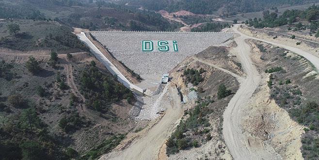 Durhasan Barajı tamamlandı