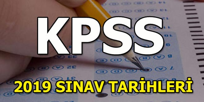 KPSS ne zaman yapılacak? ÖSYM 2019 sınav takvimini yayınladı!