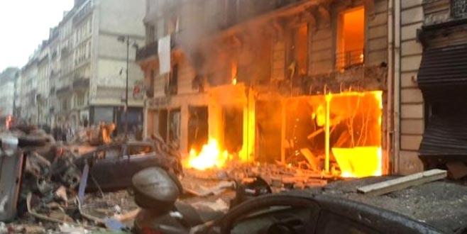 Paris'te büyük patlama! İşte olay yerinden ilk görüntüler