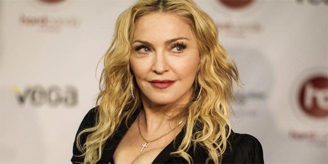 Madonna böyle veda etti!