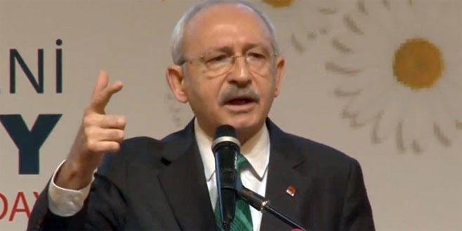 Kılıçdaroğlu Bursa'da aday tanıtım toplantısında konuştu